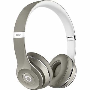 Beats solo 2 silver wired (new in the box) LUXE EDITION