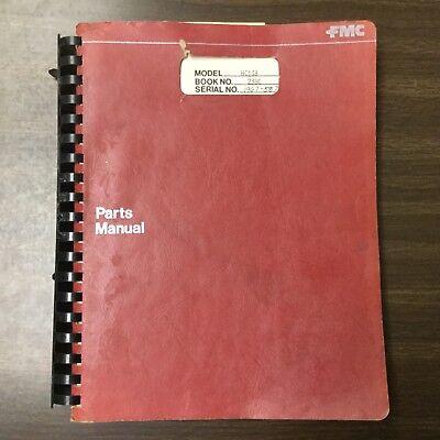 Link-belt Hc-138 Crane Parts Manual Book Catalog Guide List Truck Carrier Mobile