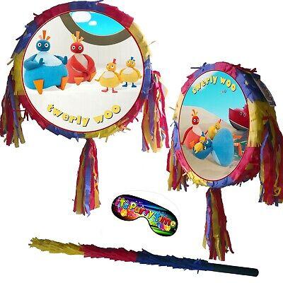 Pinata pikabu baby fun Smash Party Stick birthday UK cbbc Twirlywoos TV Peekaboo