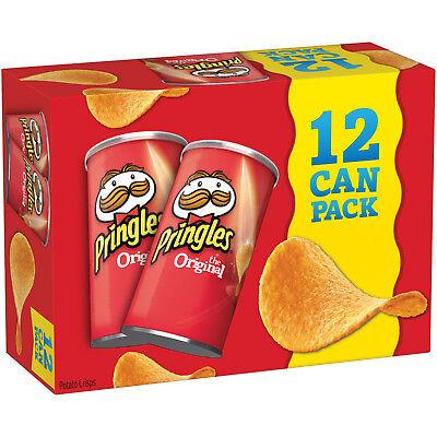 Pringles Original Potato Crisps Chips, 2.36 oz, (Pack of 12)