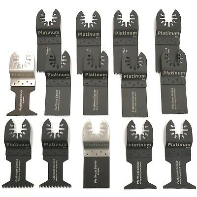 14 Pc Oscillating Multi Tool Saw Blade For Fein Multimaster Bosch Dremel Makita