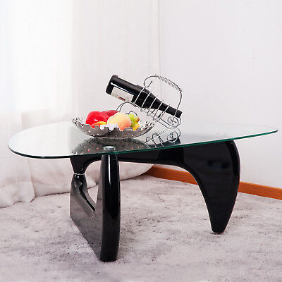 Inspired Side Table - Inspired Isamu Noguchi Black Coffee Table Side /End Table Living Room Furniture