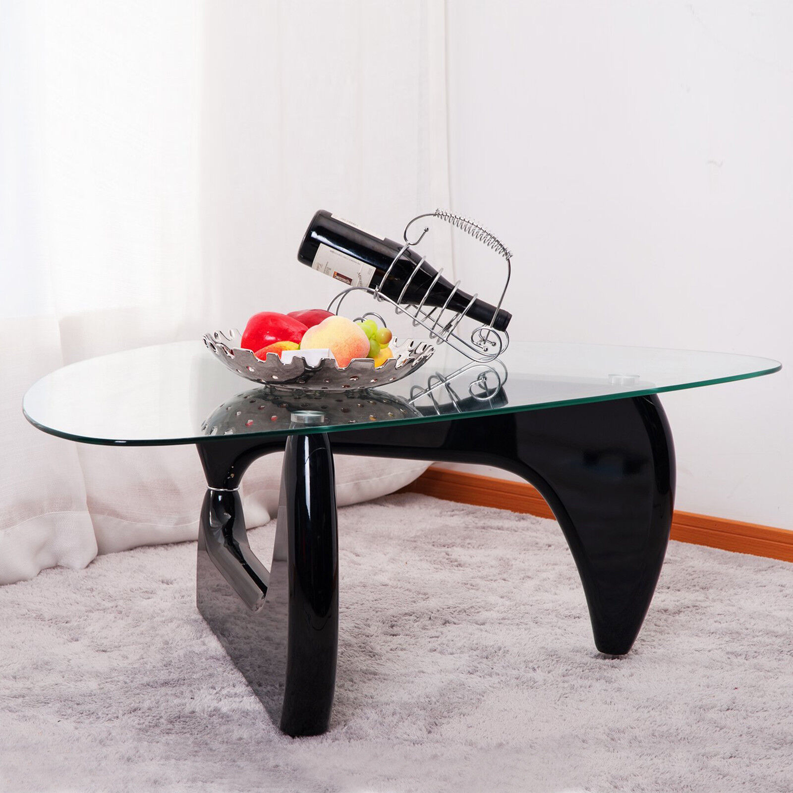 Noguchi Glass Coffee Table 11