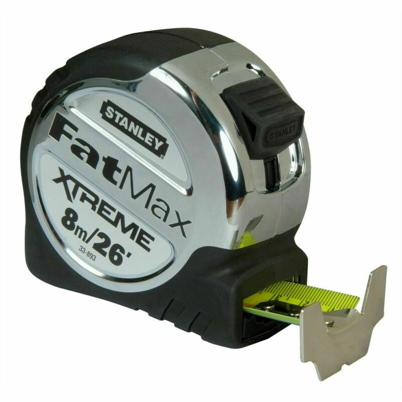 Stanley Fatmax Xtreme 8m Tape Measure - Usa Brand