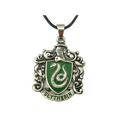 New Harry Potter Slytherin Crest Pendant Necklace