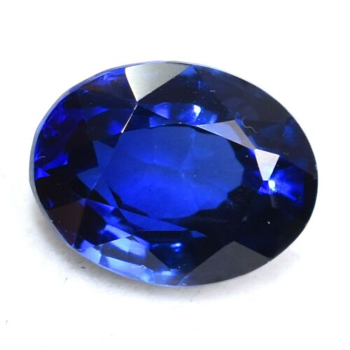 Natural 5.20 Ct Unheated Ceylon Blue Sapphire Certified Loose Gemstones