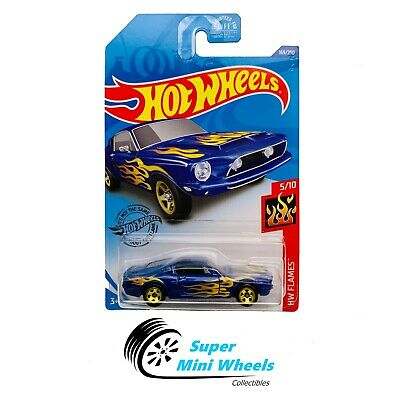 Hot Wheels '68 Shelby GT500 (Blue) HW Flames 5/10 2020 J Case #169