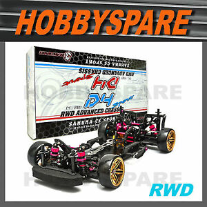 NEW 1/10 SAKURA CS D4 RWD ADVANCED RC DRIFT CAR CHASSIS KIT Unassembled