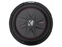 "2 KICKER 2010//10 CVT12 CAR AUDIO STEREO 12/"" 4-OHM SHALLOW SUBWOOFERS//SUB WOOFERS"