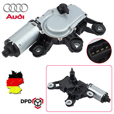 Wischermotor Scheibenwischer Motor Hinten Heckscheibe für Audi A3 A4 A6 Q5 Q7 8P