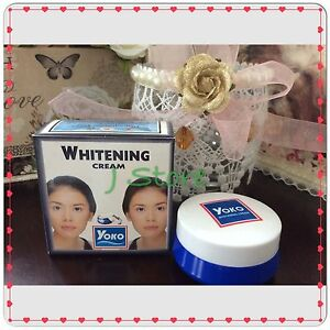 1 Yoko Whitening Cream Reduce Blemishes Dark Spots Facial Skin Lightening 4gram