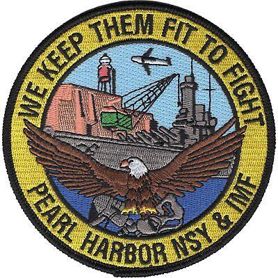 United States Naval Shipyard & Intermediate Maintenance Facility Military Patch