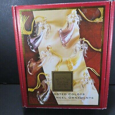 LENOX - Assorted Colors Angels - Set of 6 Angels  / Original Box Assorted Angels Ornament