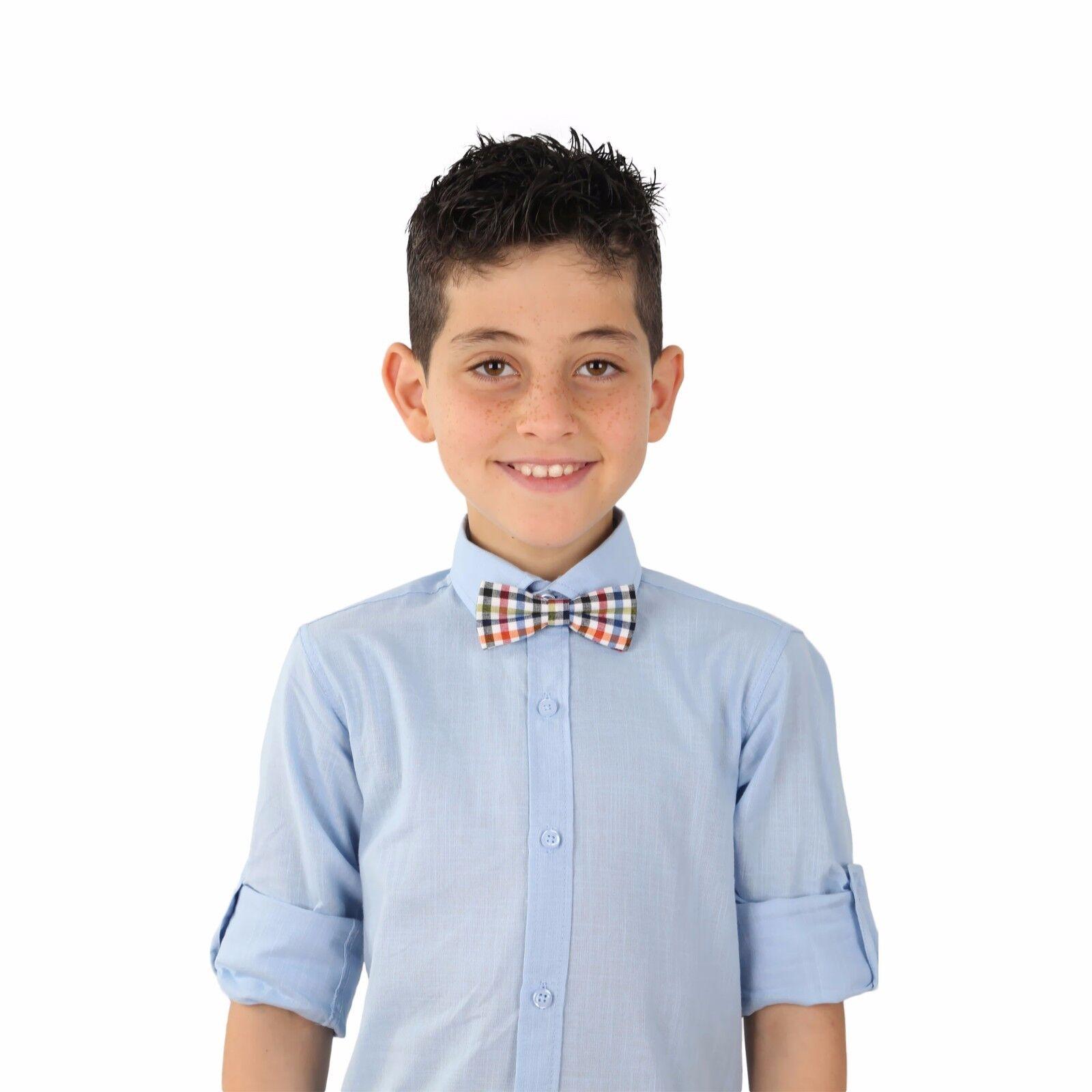 Boys Kids Cotton Slim Fit Classic Formal Sky Blue Shirt
