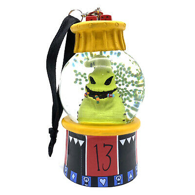 Disney Parks The Nightmare Before Christmas Oogie Boogie Snow globe Ornament