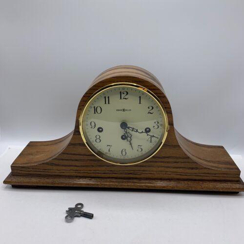 Vintage Howard Miller Western Germany Mantle Clock 340-020 Works