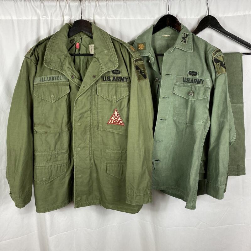 Vietnam War Named XO 11th Cav Regiment Ranger Airborne Uniform Group M65 Jacket