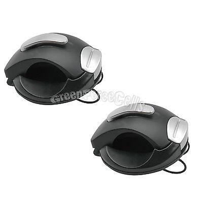 2 Pcs Car Auto Sun Visor Eye Glasses Sunglasses Clip Mount Holder Black Us Stock