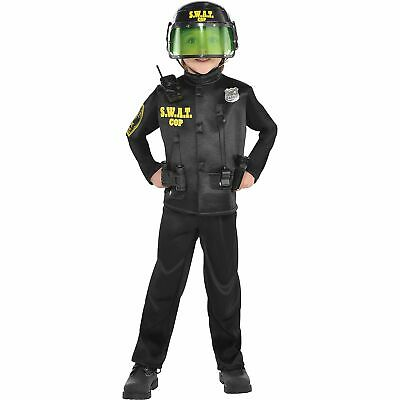 AMSCAN SWAT Cop Halloween Costume for Boys, Small, Includes