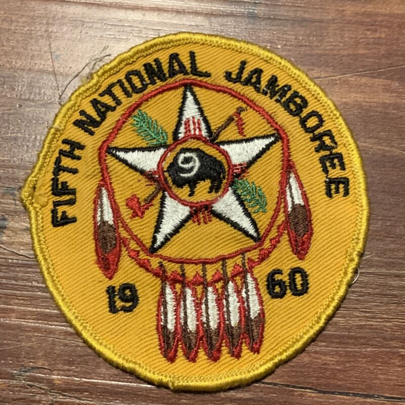 Vtg 1960 National 5th Jamboree Region 9 Boy Scouts of America Camp Patch