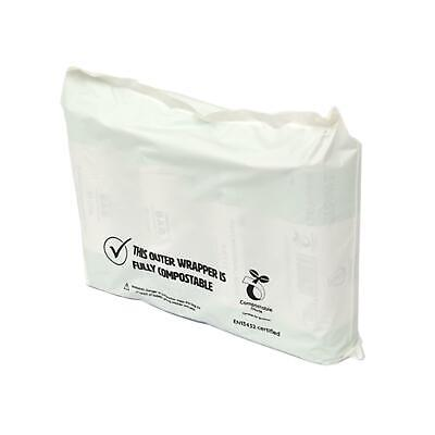 100x Compostable Mailing Bag for Postage–Heat Sealed Postal Mail Bags–290x220mm