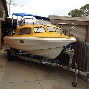 Boat Swiftcraft fiberglass fishing boat NO MOTOR Altona Hobsons Bay Area Preview