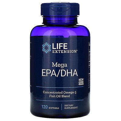 Mega EPA/DHA, 120 Softgels