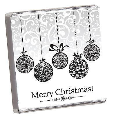 Weihnachten Geschenk - 50 Personalisiert Schokolade - Fröhliche Ho