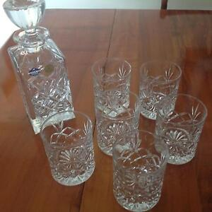 Crystal decanter and glassware Cairns North Cairns City Preview