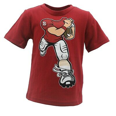 NC State Wolfpack Official NCAA Apparel Infant Toddler Size Football T-Shirt New - Nc State Apparel