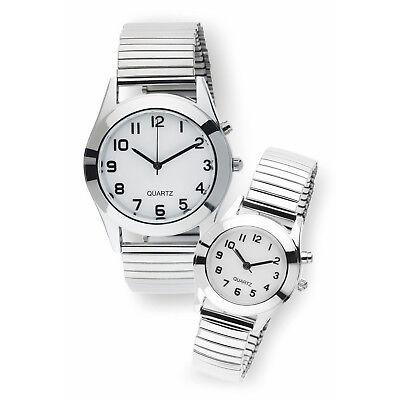 Beleuchtete Quarz Damen oder Herren Armbanduhr | Damenuhr Herrenuhr | Analog Uhr