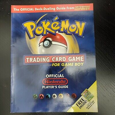 Pokemon Trading Card Game for Game Boy Official Nintendo Player's Guide Strategy