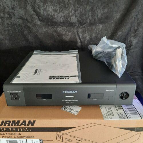 Furman ELITE-15DMI Dual Meter 12-Outlet AC Power Conditioner - Open Box Mint