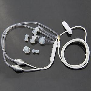 Stereo 3.5mm Earphone Headphone Air Tube Anti-radiation Headset Radiation Proof