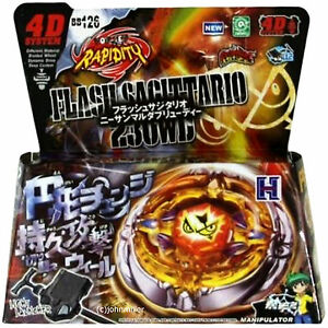 Beyblade Flash Sagittario 230WD Starter Set w/ Launcher Ripcord RETAIL PACKAGING