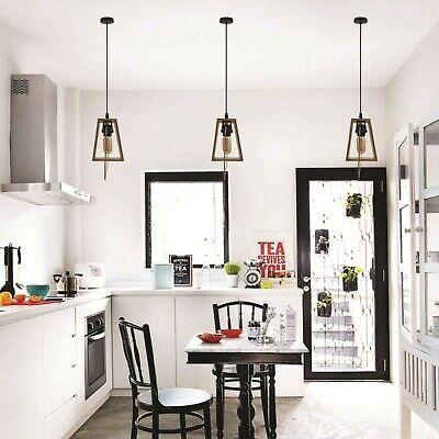 Retro Vintage Style Modern Design Lamp Metal Ceiling Hanging Pendant Light (Best Ceiling Designs For Bedroom)