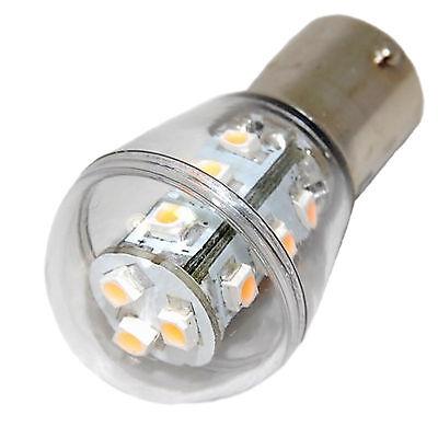 10V - 30V Dc BA15s Einzeln 15 SMD Led Glühbirne Ersatz für 1141, 1156 Warmweiß gebraucht kaufen  Versand nach Germany