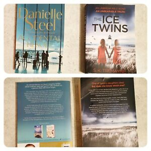 Danielle Steel Book (Accidental Heroes), S.K. Tremayne Book