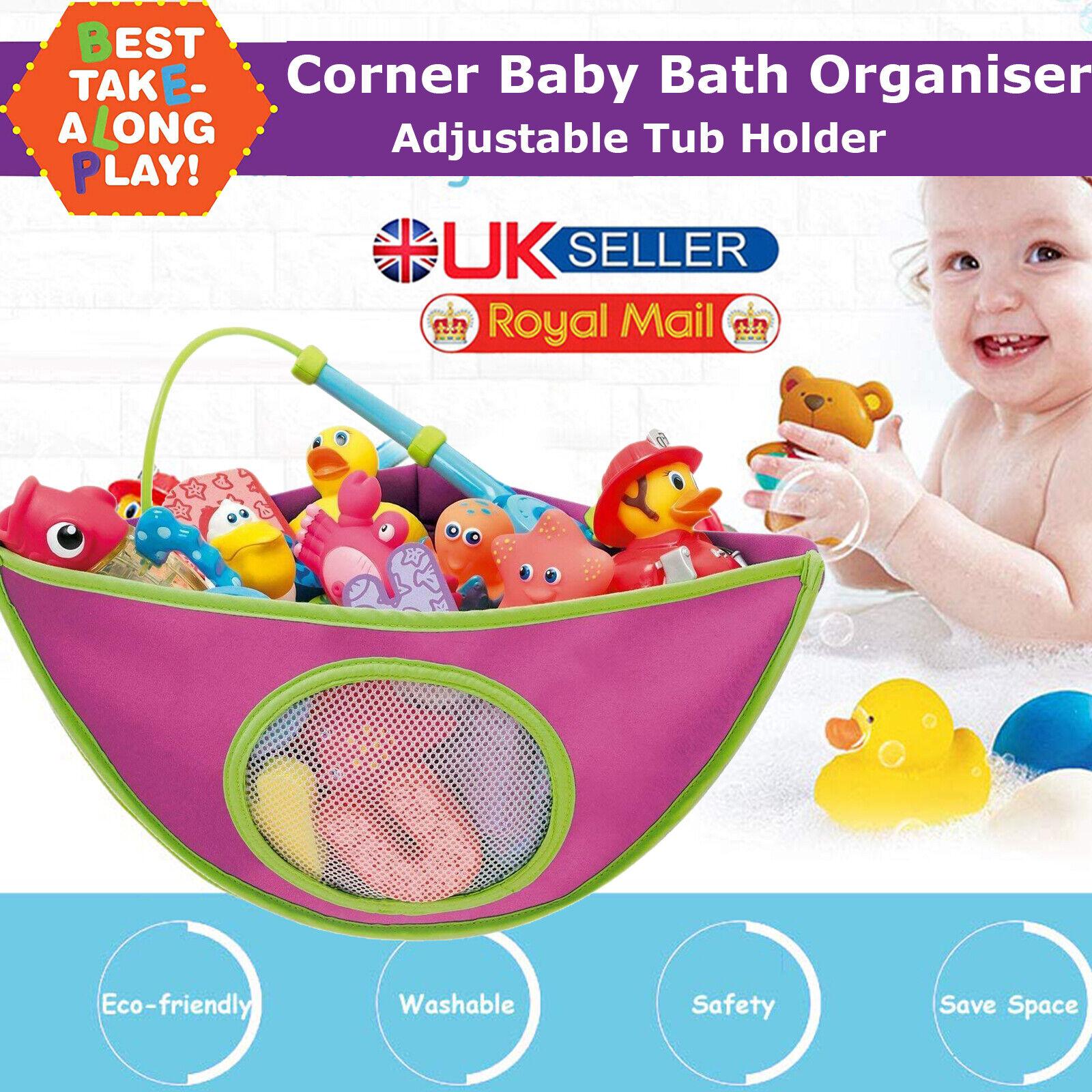 BABY BATH KIDS TOY STORAGE NET BAG TIDY BATHROOM PLAY TIME MESH FUN TOYS HOLDER