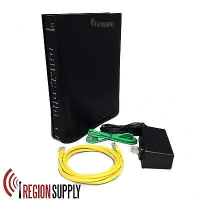 CenturyLink Technicolor C2100T Gigabit DSL Fiber Wi-Fi Modem Router 802.11 2.4/5