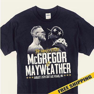Money Fight Connor Mcgregor Vs Floyd Mayweather Mens T Shirt