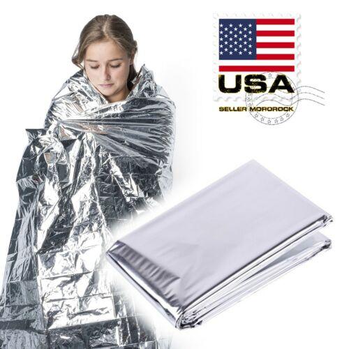 Emergency Blanket Shelter Signal Thermal Survival Safety Insulating Mylar Heat
