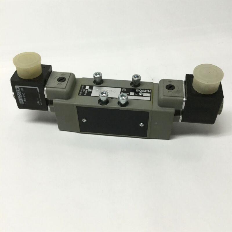 Bosch Rexroth 0820024610 Directional Control Double Solenoid Valve, 24VDC Coils