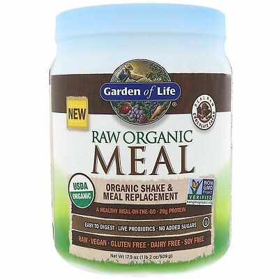 Garden of Life  RAW Organic Meal  Organic Shake   Meal Replacement  Chocolate