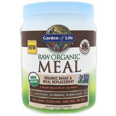 Garden of Life RAW Organic Meal Chocolate, Chocolate 1212 g