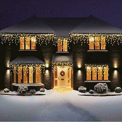 Weihnachten Lichter Schnee Effekt Warm Weiß Party Dekorationen - Schneewittchen Party Dekorationen