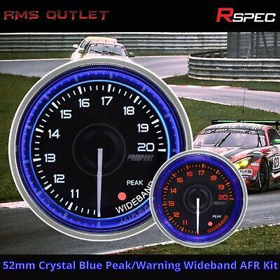R-SPEC 52mm Crystal Peak/Warning Wideband AFR Kit High Quality Car Gauge