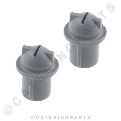 SET OF 2 X MAIDAID HALCYON RINSE NOZZLE JET INSERTS C40 GLASSWASHER ROTATING ARM