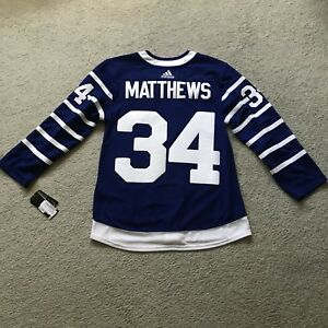 "Auston Matthews ""T Arenas"" Maple Leafs Jersey / Size 46 NEW"