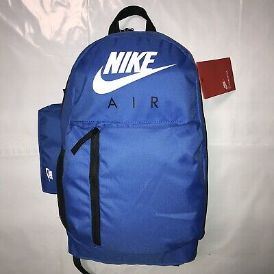 NIKE ELEMENTAL 22L BACKPACK BAG School Gym CK1003-403 NEW with tags Blue Black